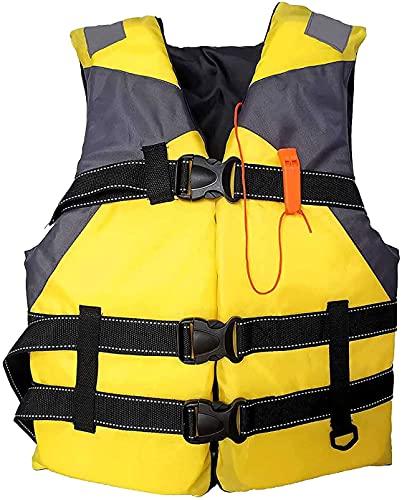 Bolsa de rescate de agua para adultos Bolsa transparente transpirable Verano Rock Pesca mar Pesca chaleco de pesca tipo cinturón invisible Conveniente chaleco salvavidas (amarillo)