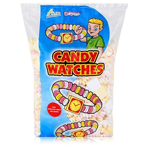 Sweet Stories Süße Uhren, Armband-Uhr, CandyWatches, 100 Stück