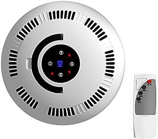 DIHAO Ventilador Escritorio con Control Remoto Calefactor Eléctrico, Calentador de casa Soplador de Aire Caliente Completo Protección contra Sobrecalentamiento