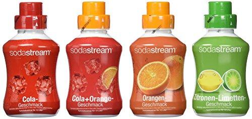 SodaStream -   Sirup 4er-Pack mit