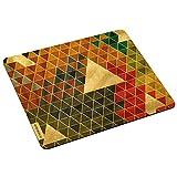 Wandkings Mousepad / Mauspad mit Motiv 'Triangle Muster im Retro Look' - Design wählbar - ideales Geschenk zum Geburtstag, Weihnachten u.v.m.