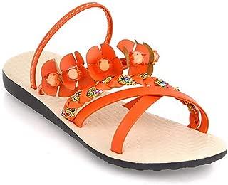 BalaMasa Womens ASL05854 Pu Slippers