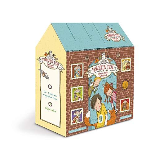 Die Schule der magischen Tiere: Die Schule der magischen Tiere - Meine große Hörbuchbox: »Die Schule der magischen Tiere«, »Voller Löcher!«, »Licht aus!«, »Abgefahren!«, »Top oder Flop!«: 10 CDs