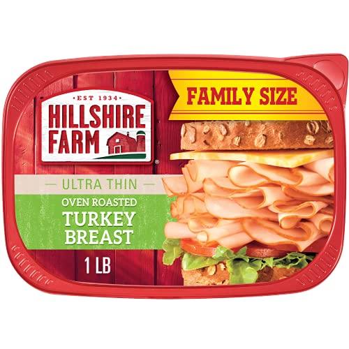 Hillshire Farm Ultra Thin Sliced Lunchmeat, Oven Roasted Turkey Breast, 16 Oz