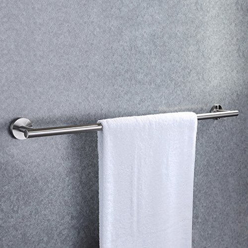 KES Bathroom Towel Bar 28 Inches Bath Towel Rack for Bathroom Towel Holder No Drill SUS304 Stainless Steel Brushed Finish, A2000S70BDG-2