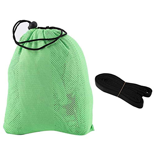 Oyunngs 300KG Outdoor Camping Hammock, Double & Single Net Strength Hanging Bed Swing, for Backpacking, Travel, Beach, Backyard, Patio, Hiking(Green)