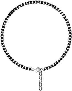 DARSHRAJ Jewellers 925 Sterling Silver(Chandi) Nazariya Anklet for Girls | Women - One Piece