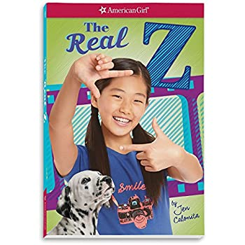 American Girl The Real Z Book for Girls Contemporary Doll Character NEW 1338148095 Book Cover