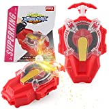 Battling Top String Launcher Sparking Bey Burst Launcher, Strong Spining Top Toys Accessories…