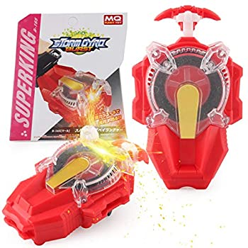 Battling Top String Launcher Sparking Bey Burst Launcher Strong Spining Top Toys Accessories…