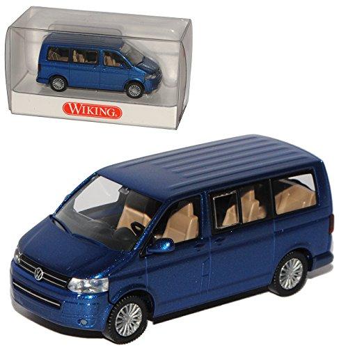 Wiking Volkwagen T5 GP California Blau Transporter Blau Ab Facelift 2009 Modell 2003-2015 H0 1/87 Modell Auto