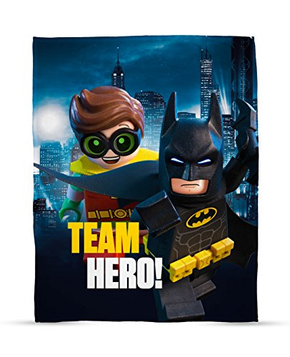 LEGO Batman Movie Hero Print Fleece Decke – Groß.
