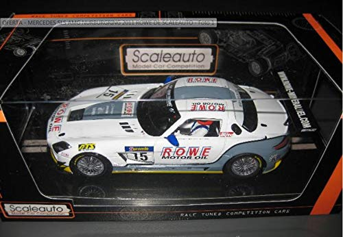 EXIN, FLY CAR MODELS SCALEXTRIC SCALEAUTO Mercedes SLS AMG Nurburgring 2011 ROWE