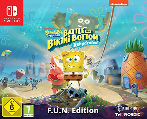 Spongebob SquarePants: Battle for Bikini Bottom Rehydrated - Edición F.U.N (Nintendo Switch)