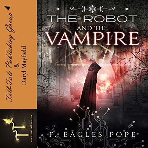 The Robot and the Vampire audiobook cover art
