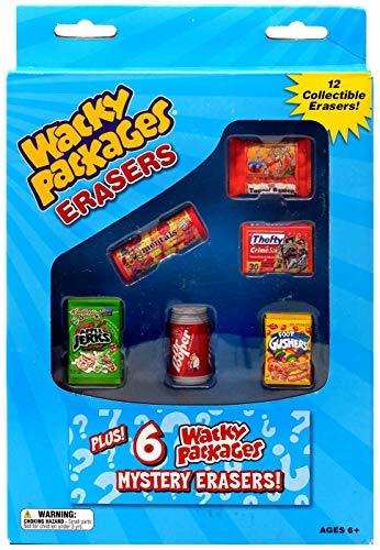 Wacky Packs Eraser Series 2 Collector Box (12 Erasers)
