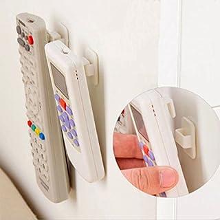 showll 4Set TV TV Aire Acondicionado mando a distancia Soporte de estante Sticky ganchos para mando a distancia Self Adhesive Strong colgador Soporte de pared Sensor