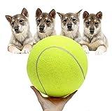 CAOQAO Balle pour Chien - Jouet à MâCher Caoutchouc Robuste Balle Chien Indestructible Tennis Balls De Sport Jouet Balle Jouets pour Grands Et Petits Chiens en Caoutchouc Naturel Ballon Chien Solide