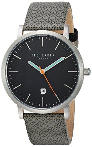 Ted Baker London Herren Analog Japanisch Quarz Uhr mit Canvas Armband 10031493