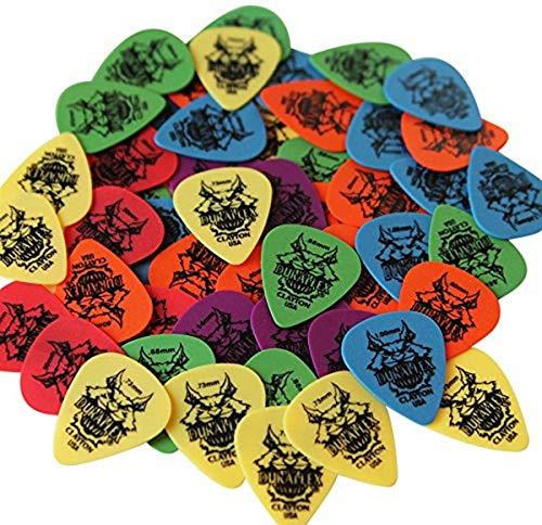 Clayton Picks DURAMULTI Duraplex Guitar Picks Mega Multi Gauge Pack, 50-Pieces