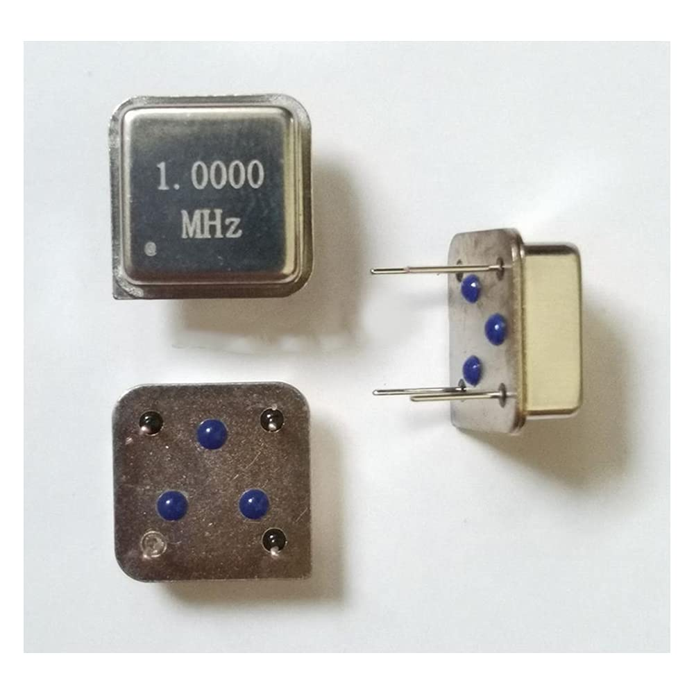 10pcs 1M Free shipping anywhere in the nation Fort Worth Mall 1MHZ 1.000M in-line Squ Crystal Clock oscillator Active