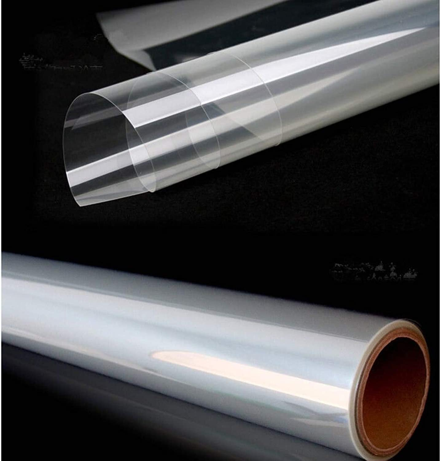 8mil Clear Predective Vinyl Window Glass Wrap Shatterproof Security Film 60   x 16ft 1.52x5m