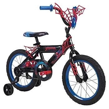 Huffy Marvel Spider-Man 16  Bike with WebTrap Handlebar Plaque