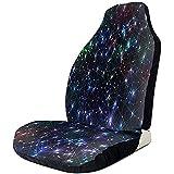 Galaxy Nebula Stardust Bright Shining Stars Cubierta geométrica Protector impermeable Almohadillas universales Estera Cojín cómodo para la mayoría de los SUV de camiones