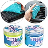 JOJOY LUX 2 Pack Cleaning Gel for Car Detailing Tools Keyboard Cleaner Automotive Dust Air Vent Interior Detail Removal Detailing Putty Universal Dust Cleaner for Auto Laptop Home, 320g