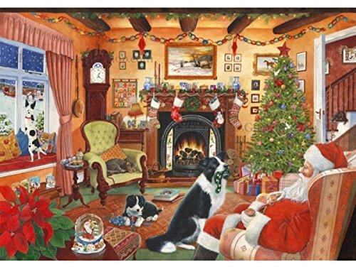 No.7 Moi Aussi Père Noël! (Me Too Santa!) - Puzzle de 1000 Pièces