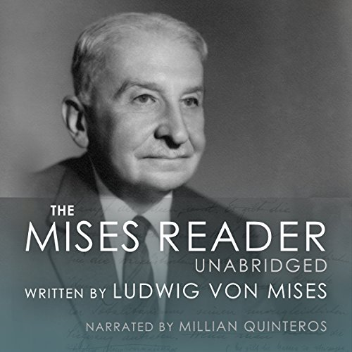 The Mises Reader Unabridged audiobook cover art