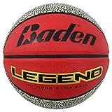 Baden Legend - Balón de Baloncesto (Goma), Color Rojo/Negro, tamaño Talla 6