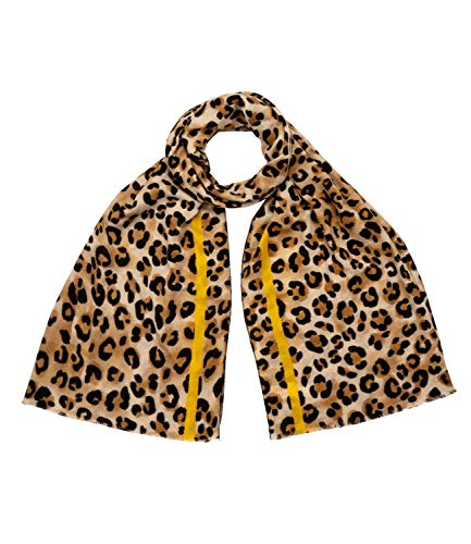 YSTRDY Scarf with leopard pattern (704-589)
