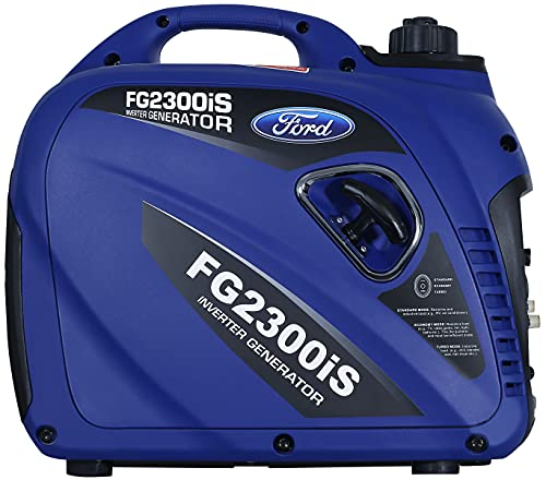 ford gas generators Ford FG2300iS 2300W Silent Series Inverter Generator, Blue