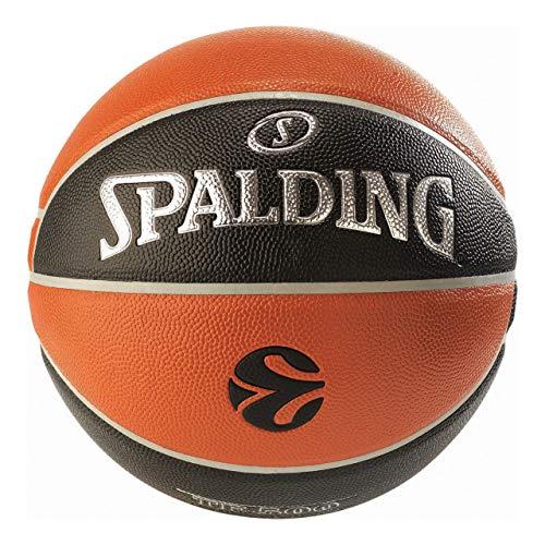 EuroLeague Pallacanestro ufficiale da corsa TF500 Spalding, arancione/nero, 7