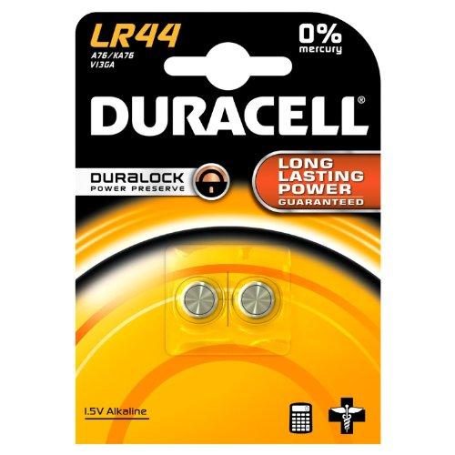 Duracell Knopfzelle Alkaline Batterie (LR44/AG13/V13 GA) 8 Stück