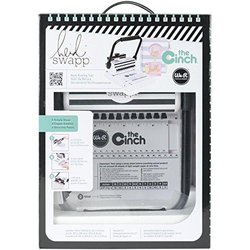 We R Memory Keepers 0633356627890 Heidi Swapp-Strumento per Rilegatura a Libro con Fori Quadrati, 29,2 x 20,3 x 12,7 cm, Altro, Multicolore, 39.369999999999997 x 27.94 x 17.78 cm
