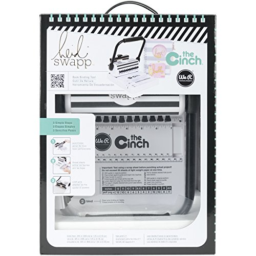 We R Memory Keepers 0633356627890 Heidi Swapp Cinch Machine, Sonstige, Mehrfarbig, 39.37 x 27.94 x 17.78 cm