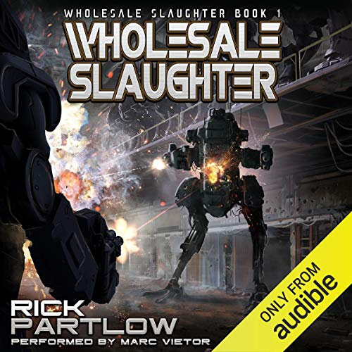 Wholesale Slaughter audiobook cover art