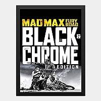 ハンギングペインティング - マッドマックス MADMAX 2015 怒りのデスロード 5のポスター 黒フォトフレーム、ファッション絵画、壁飾り、家族壁画装飾 サイズ:33x24cm(額縁を送る)