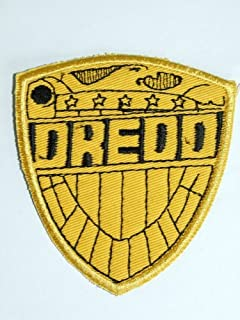 Onekool Judge Dredd Classic Movie Logo Lot Of 2 Iron On Patches