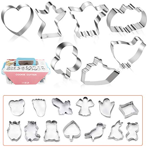 60% off Cookie Cutters Set of 20 Pcs Use promo code:  60CQXOQO Only works on Set A with a quantity limit of 1 2
