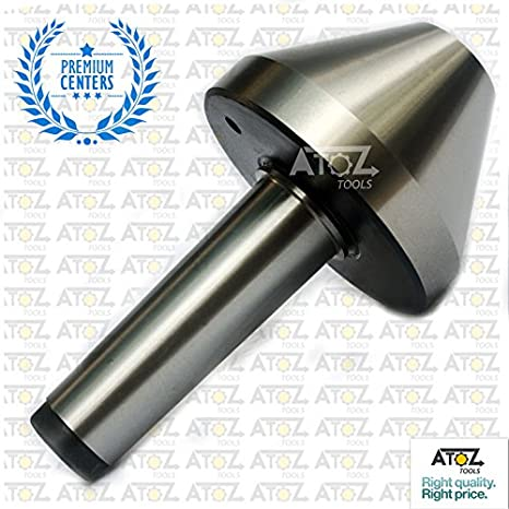 "MT3 Revolving Live Center Pipe Centre Tube Bull Nose Capacity 1/"" to 2/"" 3MT"