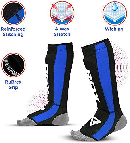 RDX Boxen Schienbeinschutz Kampfsport Schienbein Schienbeinschoner Abbildung 2