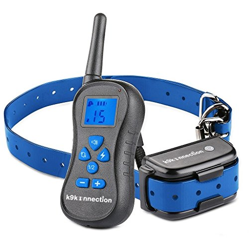 DOG TRAINING COLLAR WITH REMOTE | Electric, Rechargeable and 100%...