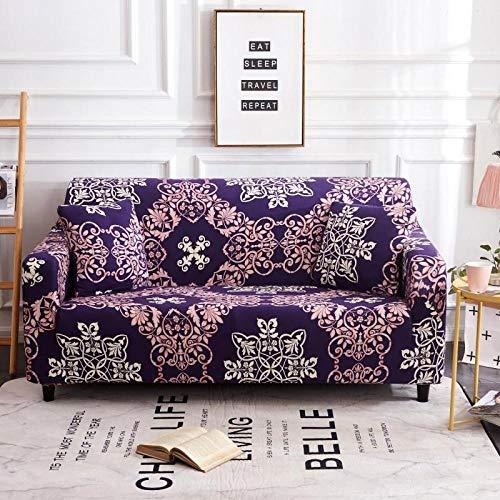 Stretch Cover L Shape 1 / 2 / 3 / 60 Seater,Bedruckte Sofabezug mit Muster, elastische rutschfeste Sofabezug, universelles Sofakissen für alle Jahreszeiten, Schutzhülle für Wohnzimmermöbel - Farbe 13