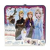 Bizak - Puzzle Frozen 2, maletín metalico con 2 puzzles (61928356)