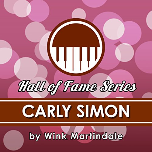 Carly Simon audiobook cover art