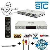 STC Wifi Digital Satellite Receiver - H-500 Mpeg-4 -Hd- Set Top Box