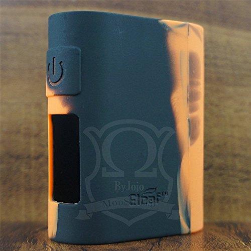 ModShield for iStick Pico Mega Eleaf 80W TC Silicone Case ByJojo Protective Cover Shield Skin Wrap (Orange/Black)